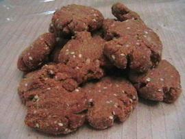 עוגיות פריכות ללא סוכר מחיטה מלאה # יונייטד מתכונים