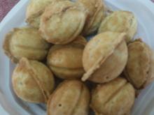 עוגיות בצורת אגוזים ממלואות בקרם פטיסייר >>>מאסטר מתכונים