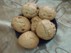 עוגיות תה עם אגוזים וצימוקים >>>מאסטר מתכונים