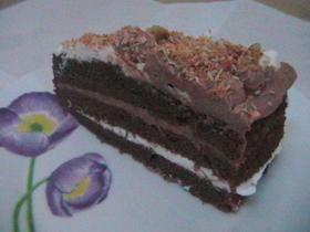 עוגת שוקולד, ב2 קרמים ,בציפוי קוקוס ואגוזים   # יונייטד מתכונים