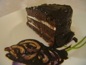 עוגת שוקולד רטובה, בקרם וציפוי שוקולד # יונייטד מתכונים