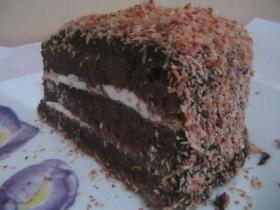 עוגת שוקולד קוקוס עשירה # יונייטד מתכונים