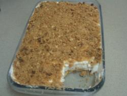 עוגת גבינה עם פירורים >>>מאסטר מתכונים
