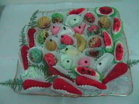 מרציפן - עוגיות שקדים מרוקאיות במעטפת תמרים/אגוזים