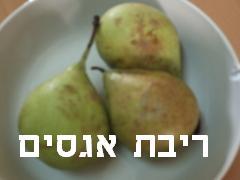 ריבת אגסים- מאסטר מתכונים