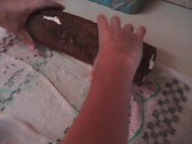 רולדת שוקולד אגוזים במילוי קצפת ובציפוי שוקולד מלווה בתמונות שלב אחר שלב   לחץ לכניסה למאגר 17  -  מתכוני מתוקים בתמונות   יונייטד מתכונים