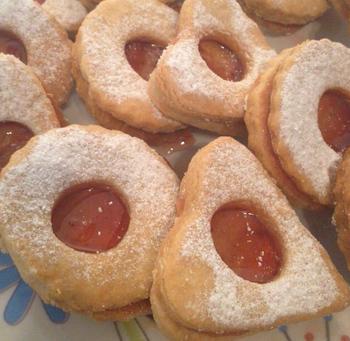 עוגיות ריבה פריכות- מאסטר מתכונים