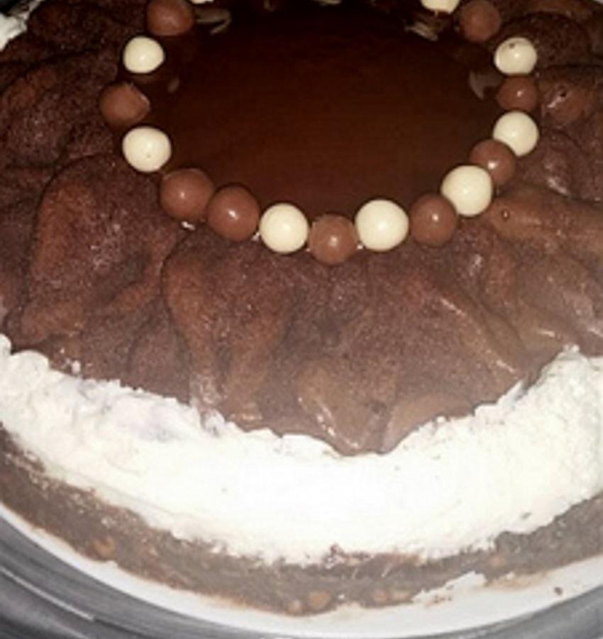 עוגת קרמבו קצת שונה וטעימה בטירוף-