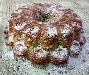 עוגת תפוחים צימוקים ואגוזים- מאסטר מתכונים