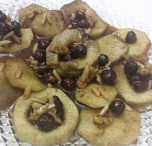 תפוחים ובטטה מקורמלים  - מאסטר מתכונים