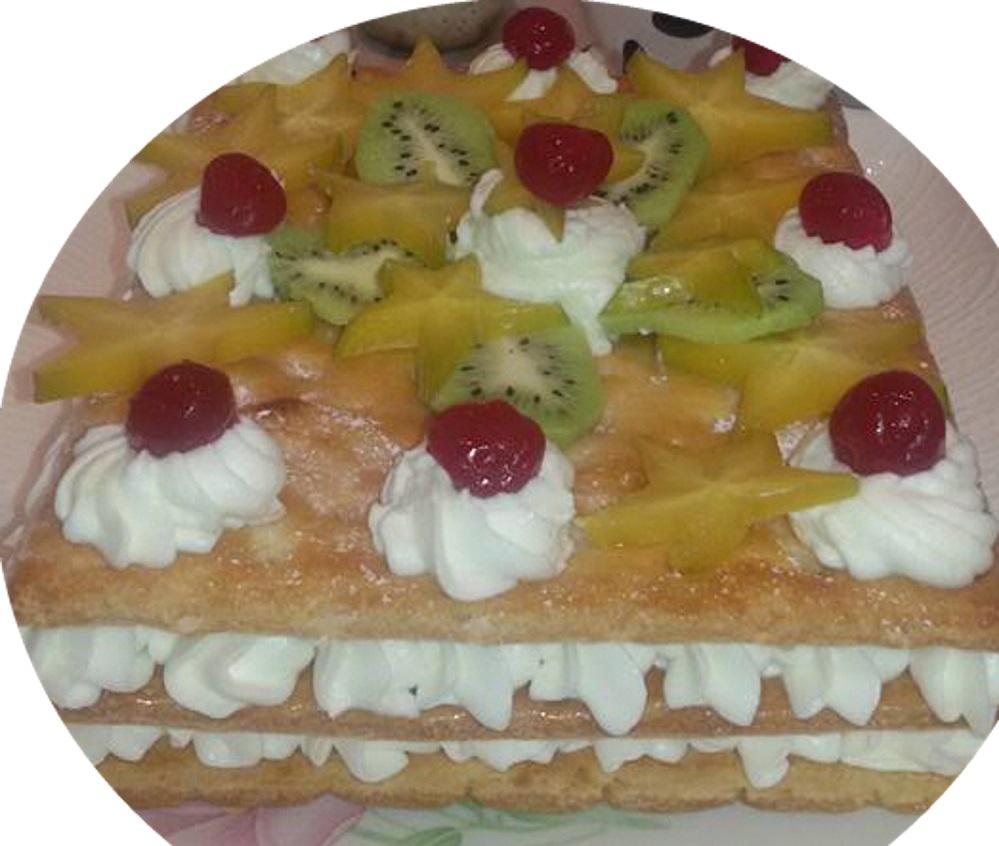 עוגת קרם שניט