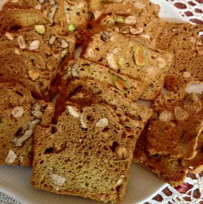 עוגיות פיצוחים ופירות יבשים- מאסטר מתכונים