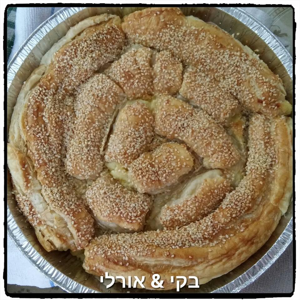 צ'וקור טעים- שבלול בצק במילוי תפו''א