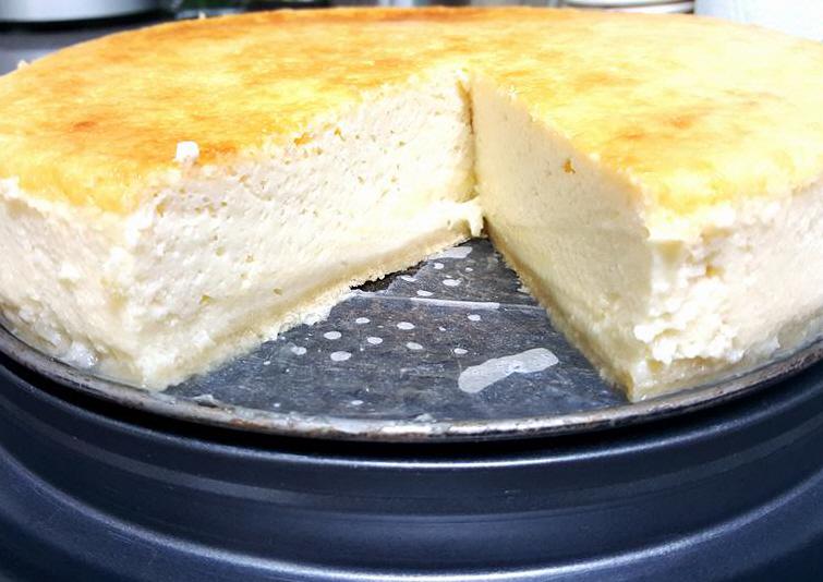 עוגת גבינה ללא הפרדת ביצים