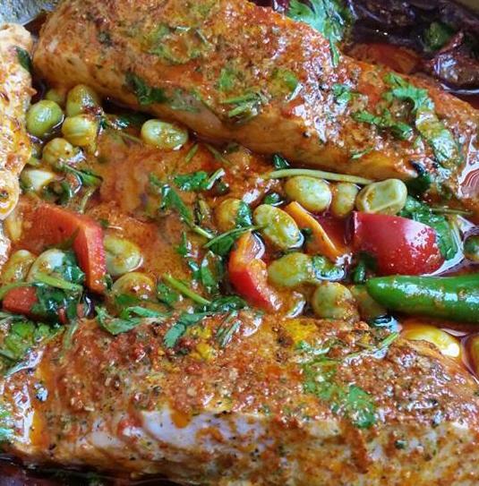 דג מרוקאי חריף