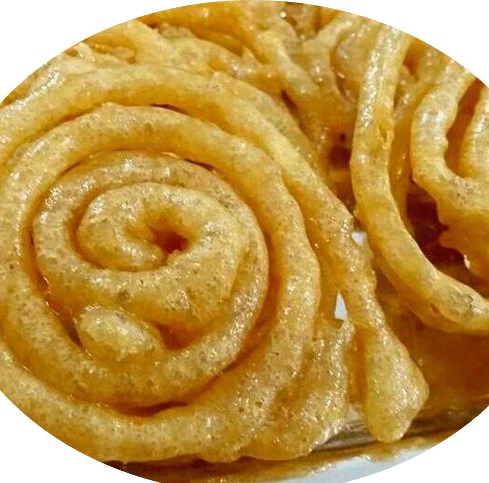 זינגולה- ממתק עיראקי מ-4 מצרכים בלב