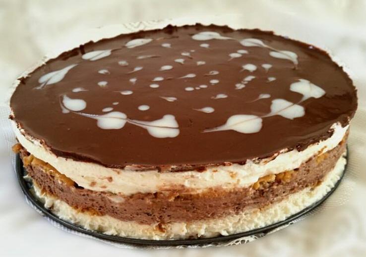 עוגת בסקויטים
