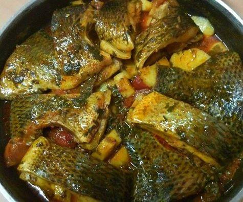 דגים עם תפוחי אדמה
