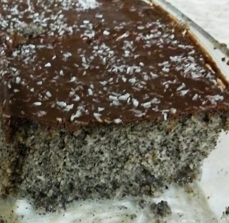 עוגת פרג במיקרוגל