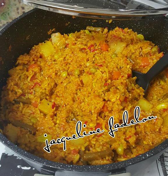 אורז עם ירקות לכל ימות השנה וכולל פסח