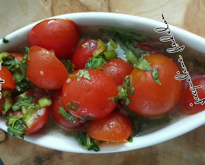 סלט עגבניות חריף פקנטי