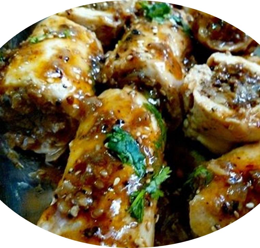 חזה עוף ממולא בבשר