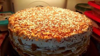 עוגת שכבות קרמשניט - בצק ביתי - מאסטר מתכונים