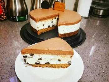 עוגת גבינה עוגיות ונוטלה קרה- מאסטר מתכונים