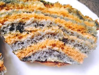 עוגת וניל צבעונית ספוגית ועסיסית ביותר-
