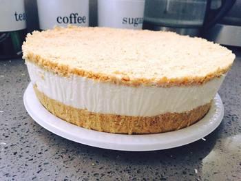 עוגת גבינה קרה פשוטה וטעימה-  מאסטר מתכונים