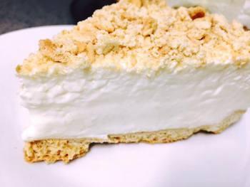 עוגת גבינה קרה תחתית בצק פריך- מאסטר מתכונים