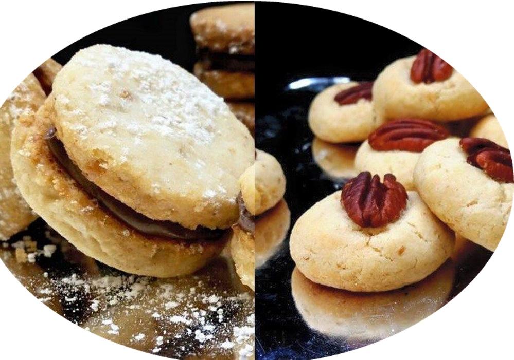עוגיות אגוזים קלות וטעימות