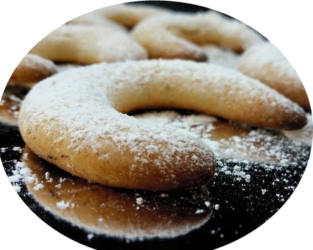 עוגיות סהרוני שקדים או פקאנים קלות להכנה וממכרות במיוחד