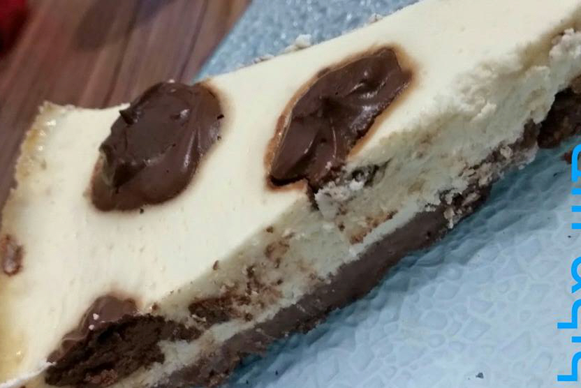 .... עוגת גבינה מנוקדת טעימה ומומלצת בחום