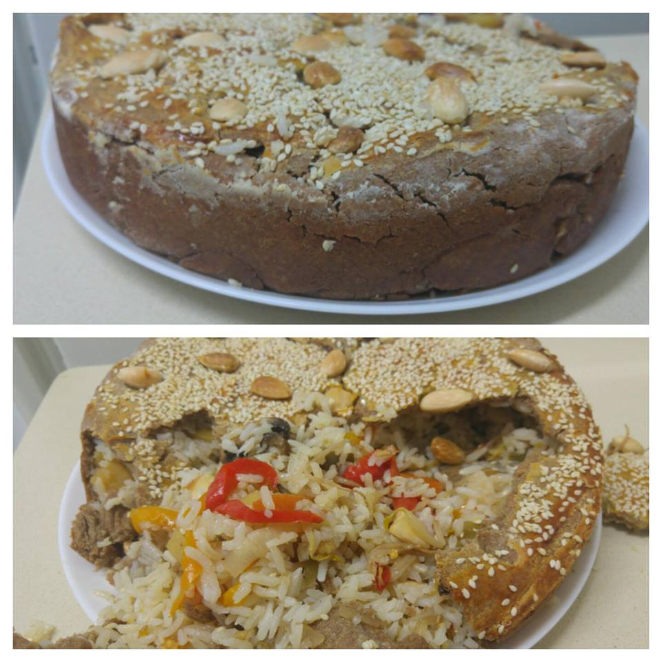 מבשלים ואופים עם מאסטר מתכונים  -  -    עוגת הפתעות מקמח שיפון