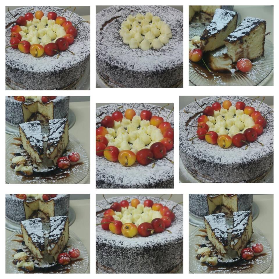 מבשלים ואופים עם מאסטר מתכונים  -  -   עוגת גבינה קלה טעימה ובחושה