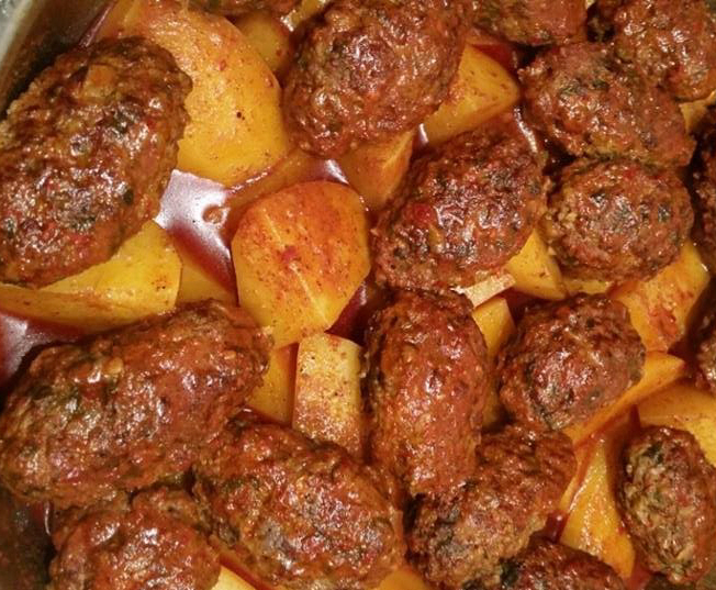 קציצות עם תפוחי אדמה