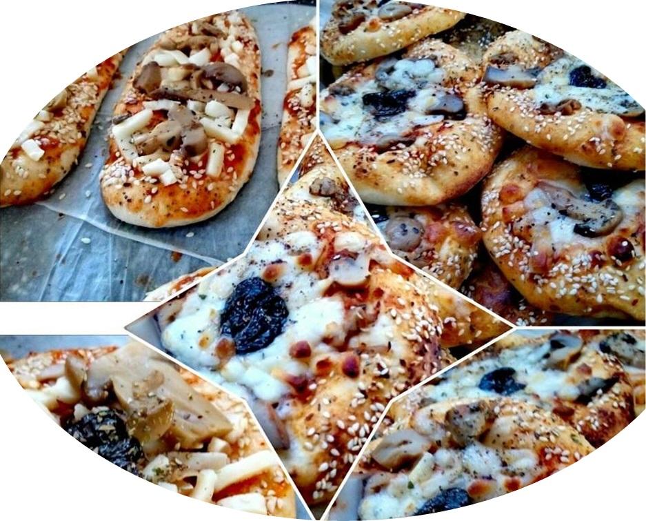 פיציות - מיני פיצה