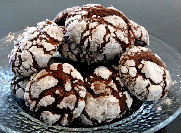 עוגיות בוטנים מושלגות. -  מבשלים ואופים עם מאסטר מתכונים