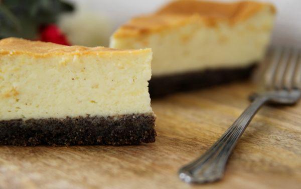 עוגת גבינה - פרג