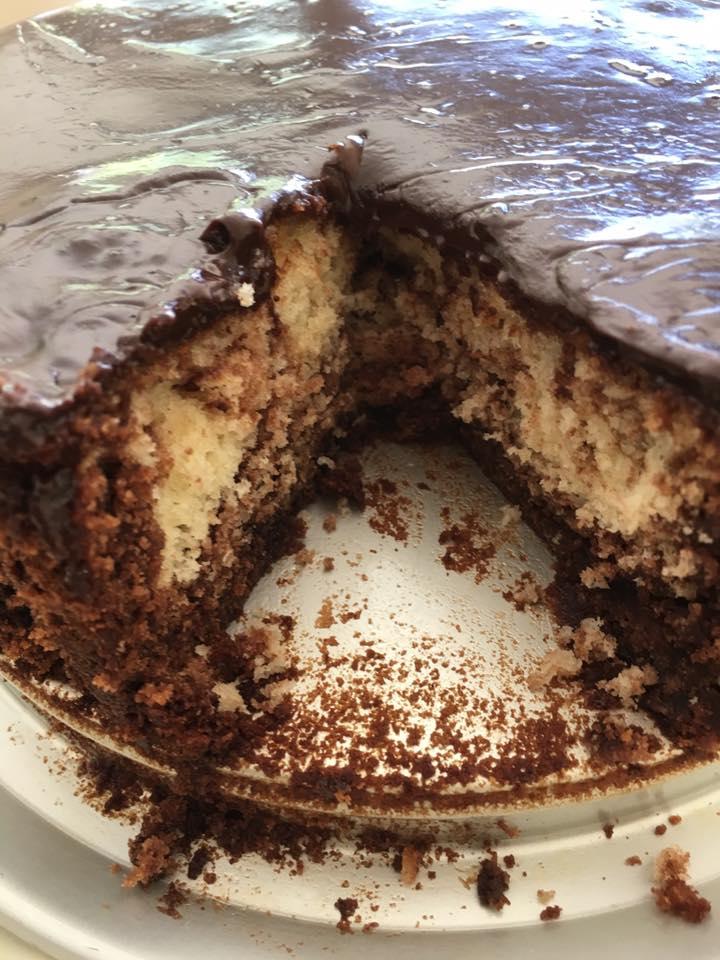 מתכון עוגת קוקוס ונוטלה מטריפה העוגה הכי טעימה
