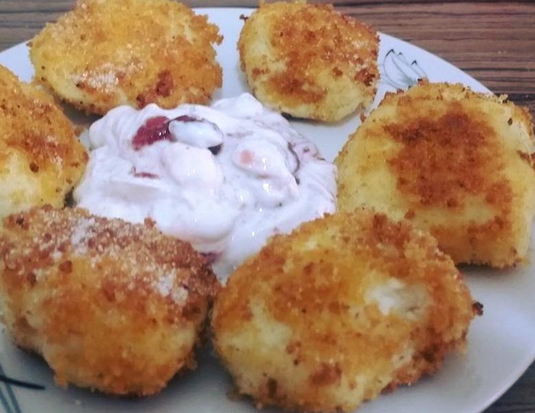 פפאנש קציצות גבינה הונגריות משודרגות בקצת שינויים שלי