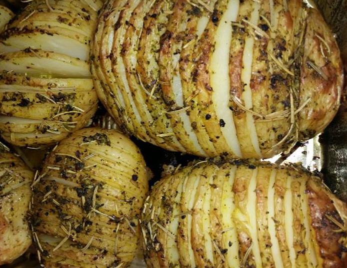 -מבשלים ואופים עם מאסטר מתכונים - מתכון למניפות תפוחי אדמה