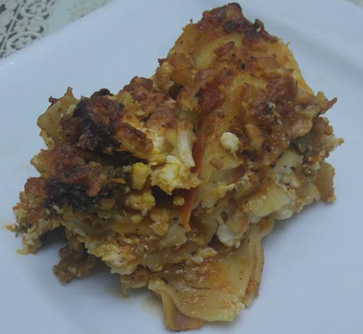 מבשלים ואופים עם מאסטר מתכונים -  לזניה חלבי