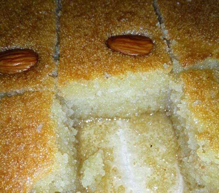 עוגת סולת   .... מבשלים ואופים עם מאסטר מתכונים ...