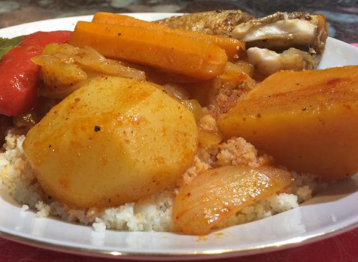 מרקה בלחוט -מרק דגים טוניסאי....לצד קוסקוס