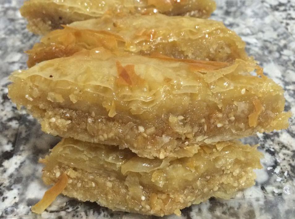 מתכון בקלאווה טוניסאית אסלית .... והטעם...משגע - מבשלים ואופים עם מאסטר מתכונים