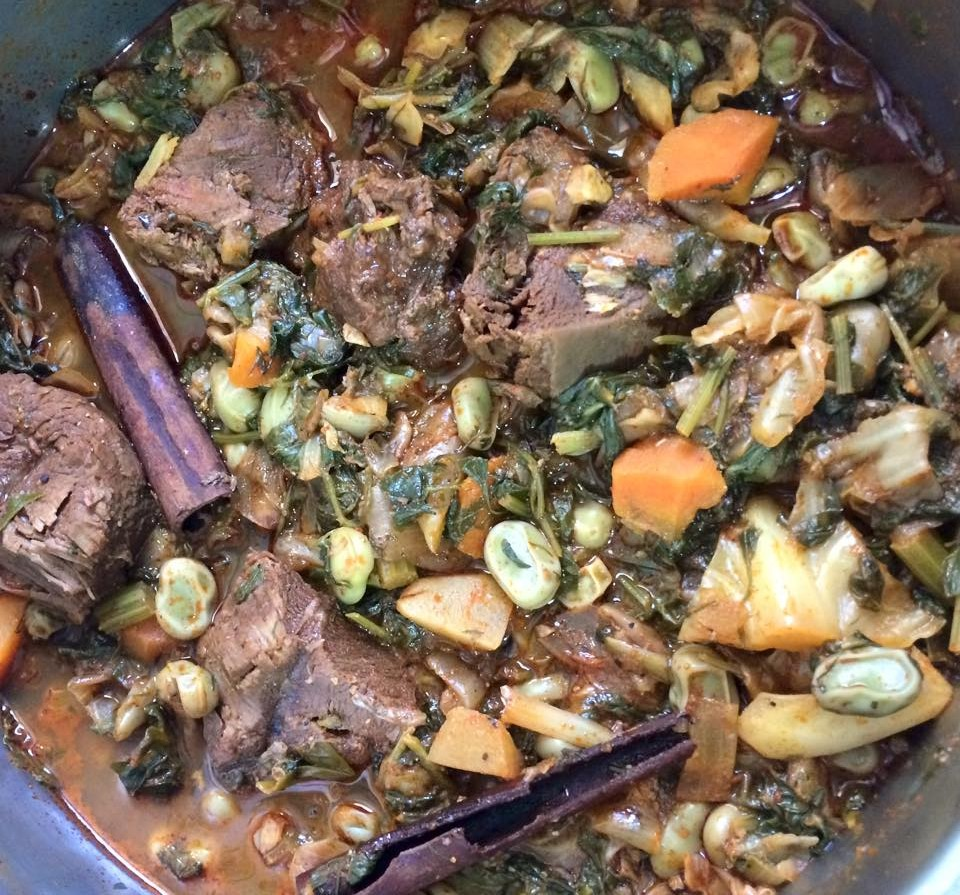 מתכון טביחה אמסוקי/מחאלטה - מבשלים ואופים עם מאסטר מתכונים