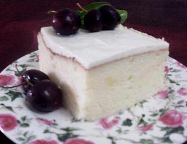 עוגת גבינה אוורירית מעולה הנאפית במים...מבשלים ואופים עם מאסטר מתכונים