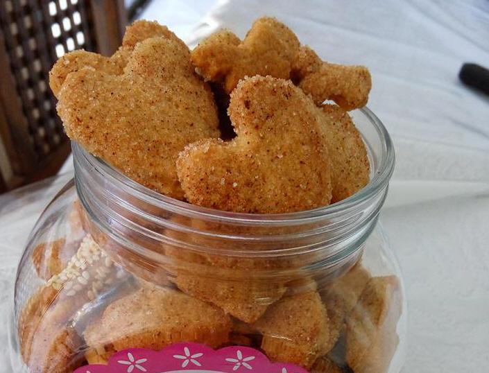 עוגיות סוכר וקינמון של פעם